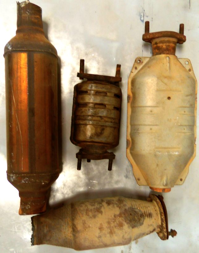 Auto parts recycling Austin: Catalytic Converters