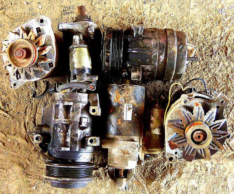 Auto parts recycling Austin: Starters Alternators Compressors