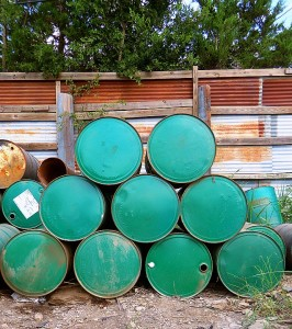 Scrap metal sellers Austin:Barrels