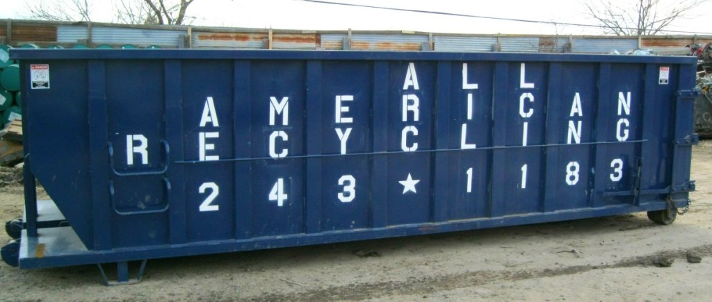 Commercial recycling Austin rolloff dumpster