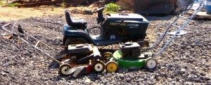 Scrap metal sellers Austin: Lawnmowers