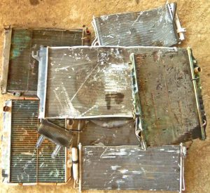 Scrap metal buyers Austin: Radiators